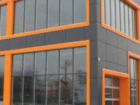 Фасадные металлокассеты. Изделия из листовой стали