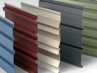 Металлосайдинг МП: покрытия